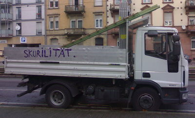 Skurilitäten-Transport
